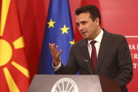 North Macedonia PM Zaev calls for early election, blasts EU