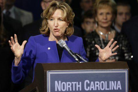 Funeral held in North Carolina for former US Sen. Kay Hagan