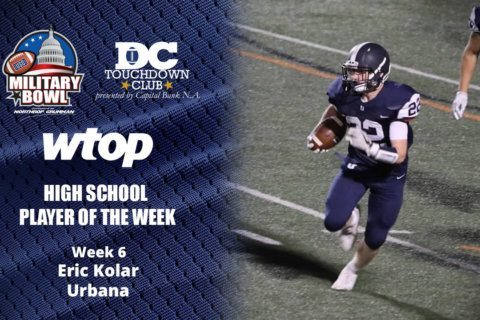 Eric Kolar runs Urbana past Tuscarora to win Player of the Week