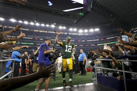Aaron Rodgers returns to his 'special' place: Monday night