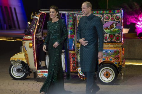 UK's William, Kate visit Pakistan's climate-change hit north