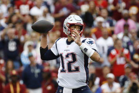 Brady carries unbeaten Patriots past winless Redskins 33-7