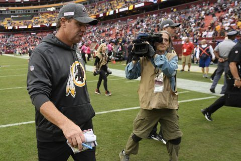 Gruden doesn't 'have a concern' about job status with Skins