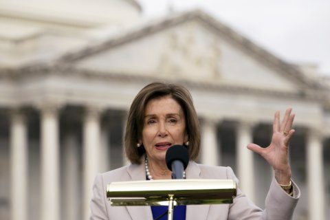 The Latest: House passes rules package for impeachment probe