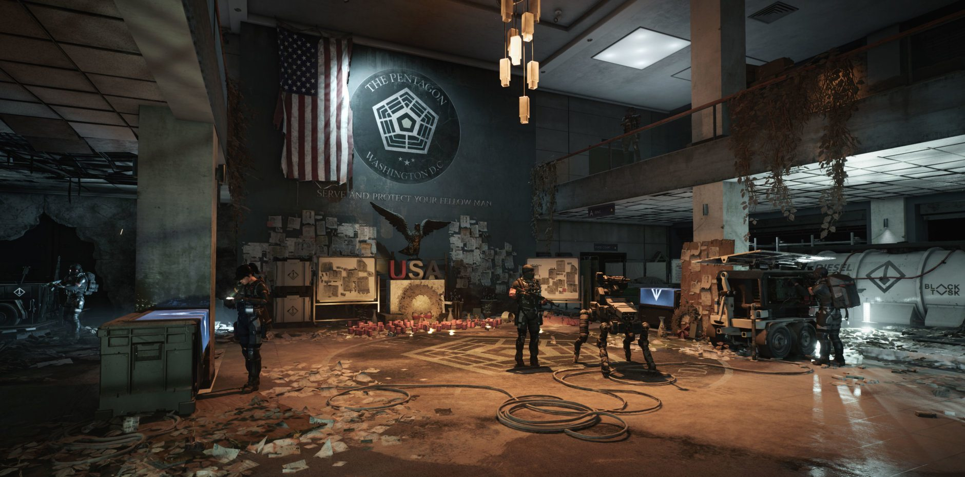 <p>Tom Clancy&#8217;s Division 2 has opened the doors to the Pentagon in its latest update.</p>