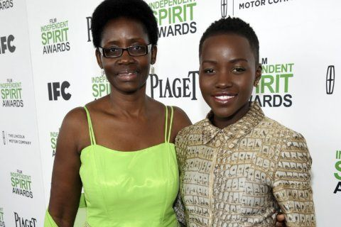 Nyong'o honors her mother for fueling her passion for art