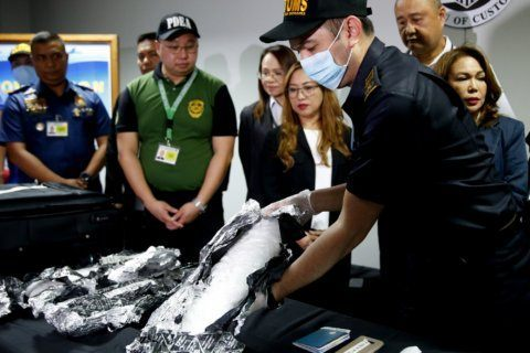 Philippines: Indonesia woman nabbed with drugs from Cambodia