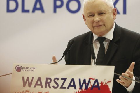 Poland's ruling party declares victory in divided nation