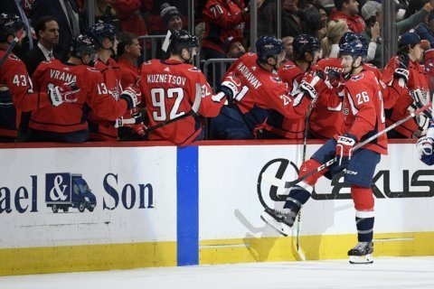 John Carlson's 3-point night helps Capitals beat Rangers 5-2