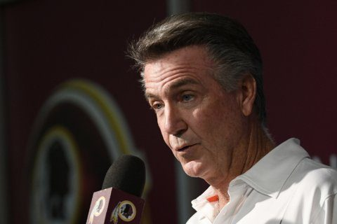 Redskins Team President Bruce Allen reportedly out of football operations