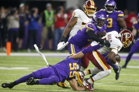 Keenum concussion may force Haskins into action for Redskins