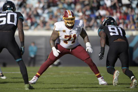 Redskins say Williams failed physical for helmet discomfort