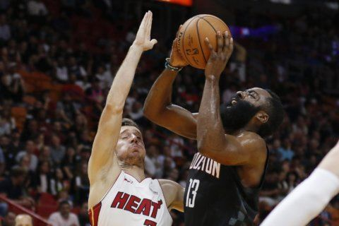 Harden caps preseason with a scoring flourish