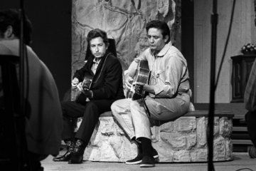 Bob Dylan and Johnny Cash's demo of 'Wanted Man' is released