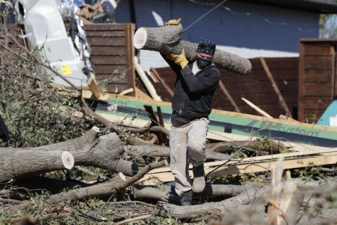 9 tornadoes confirmed in Dallas area from Sunday's storms