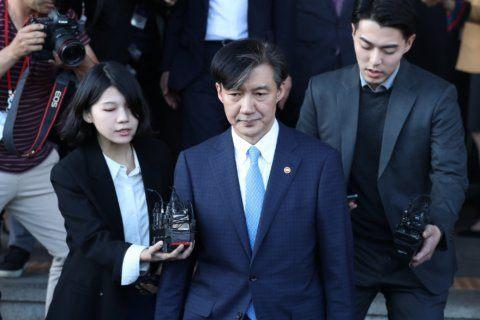 South Korean prosecutors seek arrest of ex-minister's wife