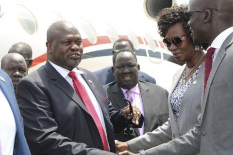 South Sudan opposition leader returns to meet with president