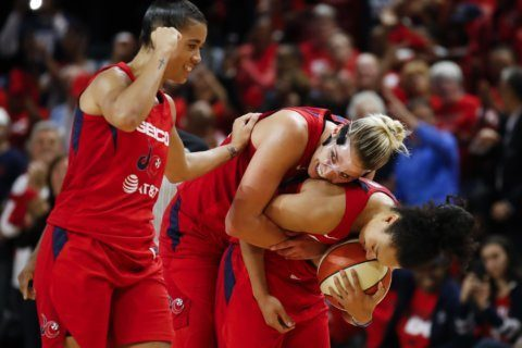 Bruised, battered, but never broken, Mystics run it back, win WNBA title