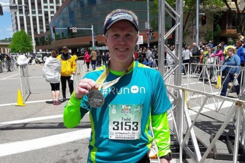 MCM runner vows 'I can run farther' than the illness trying to catch him