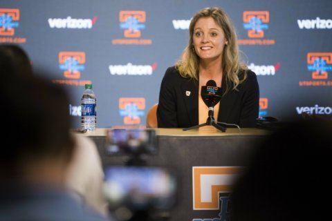 New Lady Vols coach Harper savors return to her alma mater