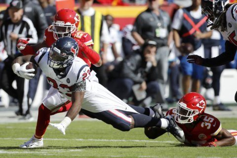 Chiefs' Reid shoulders responsibility for loss to Texans