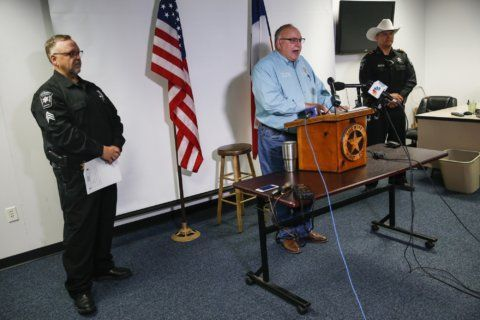 The Latest: Suspect says he's innocent of party shooting