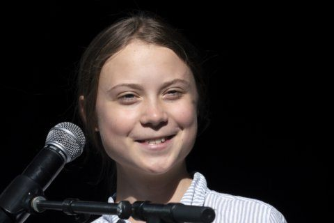 Greta Thunberg tells Denver rally: 'We are the change'