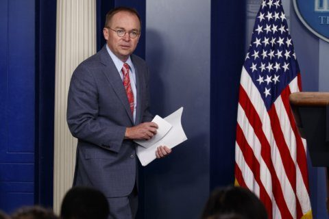 White House says aid withheld in push for probe of 2016 race