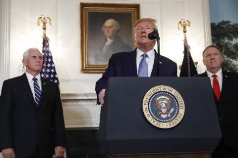 The Latest: Trump says Turkey calls cease-fire 'permanent'