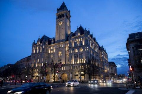 Trump's company exploring sale of landmark Washington hotel