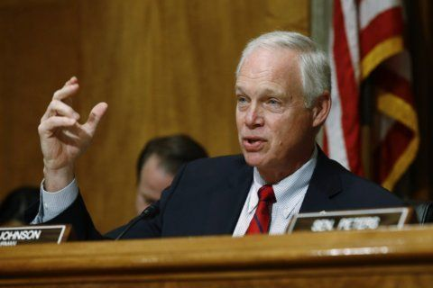 GOP Sen. Johnson says Trump blocked Ukraine aid