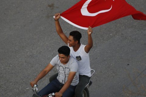 Turkish patriotism on display amid Syria operation