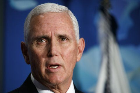Pence makes swing through Virginia before key state election