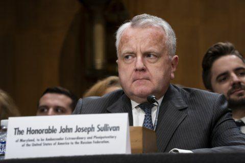 Trump pick for Russia envoy grilled by senators on Ukraine