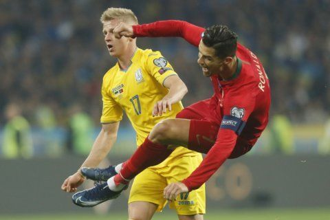 Ronaldo nets 700th career goal in Portugal's loss to Ukraine