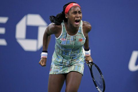 Just 15, Coco Gauff tops Ostapenko for 1st WTA singles title