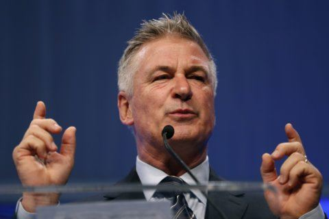 The Latest: Alec Baldwin campaigns for Virginia Democrats