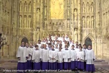 WATCH: Washington National Cathedral's choristers give Nats a sweet serenade