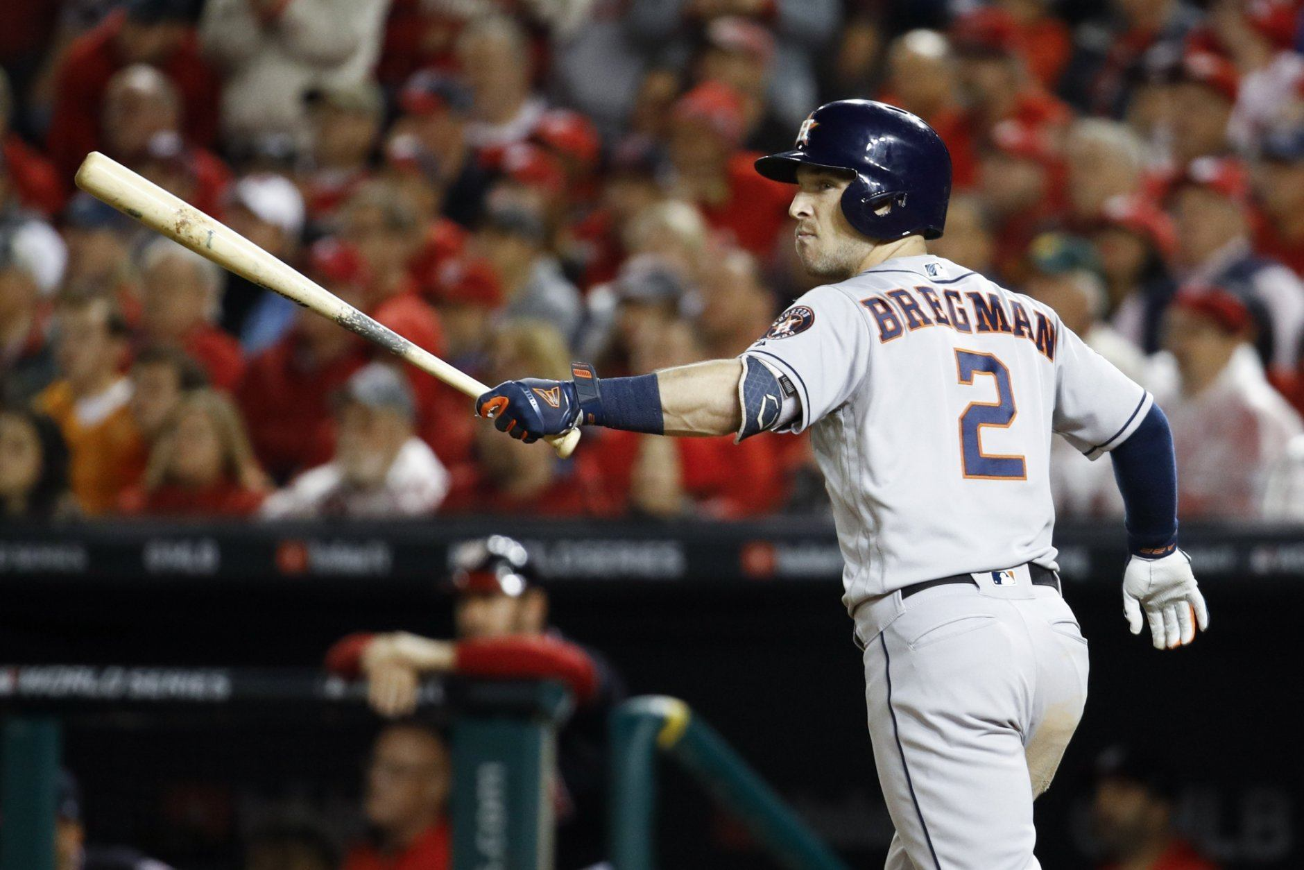 <p><strong>American League MVP</strong></p> <p>Alex Bregman: 100</p> <p>Mike Trout: 96.48</p> <p>Marcus Semien: 92.58</p> <p>Rafael Devers: 90.12</p> <p>Xander Bogaerts: 88.70</p> <p>Ah, the annual Mike Trout debate. Trout was well on his way to his third MVP in the last six seasons before his year was cut short prematurely on Sept. 7. While he still led the AL in OPS, that opened the door for Alex Bregman, who jumped ahead in a number of counting stats (runs, RBI, XBH) for the 107-win Astros. In his final 19 games after Trout's injury, Bregman posted a 1.195 OPS and slugged seven home runs, walking 19 times against just seven strikeouts. If there is any recency bias in the voting, his strong finish – like Yelich's last year – could be the difference. In addition, there is no surprise around these parts that Marcus Semien snagged third place after his monster season. It will be interesting to see where D.J. LeMahieu (eighth in the model) lands in the final vote.</p>