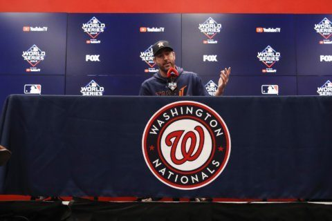 Verlander, Astros can clinch World Series vs Nats in Game 6