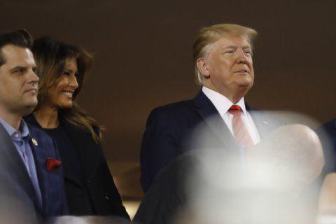 Ballpark boos a rarity for shielded president