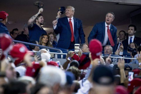 Early and pricey: Trump's World Series ad an expensive pitch