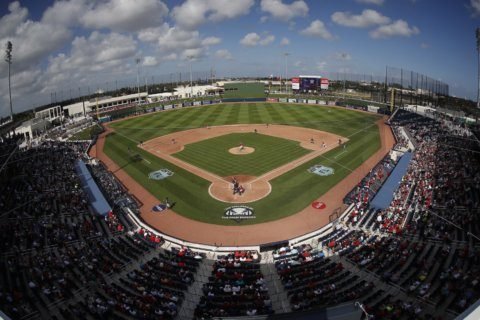 Very complex: Nats, Astros share spring site, meet in Series