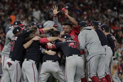 Photos: The Nationals' road to World Series champions