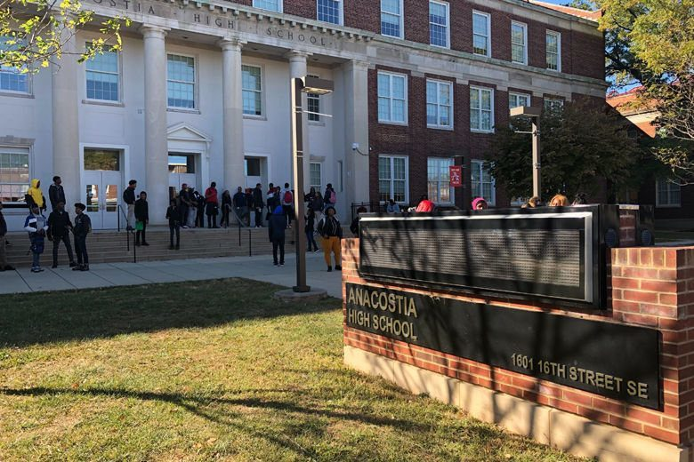 After DC student's death, classmates rally against gun violence