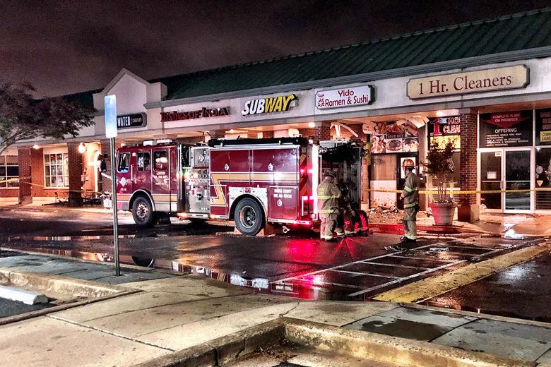 Belle View Shopping Center fire