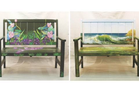 Painted benches stolen during first-ever 'Take a Seat, Vienna!' campaign