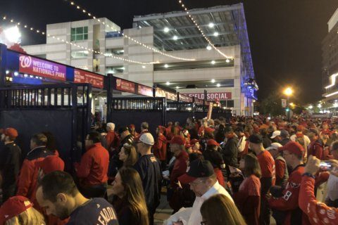 Nationals again offering commemorative World Series tickets