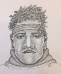 composite sketch in Oct. 13 assault and robbery