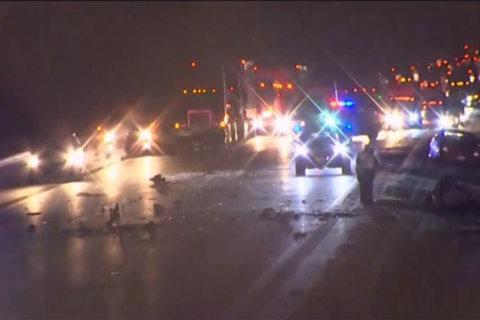 1 dead in I-70 crash in Frederick County